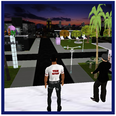 Gay Virtual Cyber Sex World Uther Boystown